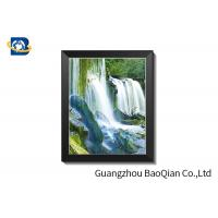 Buy cheap PVC Frame 3D Lenticular Pictures Format Of Customer Images Clear PSD AI PDF TIFF JPG from wholesalers