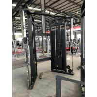 Buy cheap PU Leather Fitness Exercise Equipment , Weightlifting Functional Trainer Machine from wholesalers