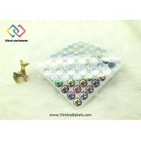 Buy cheap 20mm Round Shape Disposable Holographic Sticker Paper With Custom Logo from wholesalers