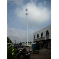 Buy cheap Steel Landscape Cell Communication Monopole Tower/Telecom Galvanizd Steel Monopole Antenna Tower from wholesalers