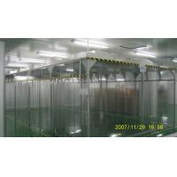 Buy cheap ISO8 Softwall Clean Room  /  Vertical Laminar Air Flow Booth With H14 HEPA Filter Unit from wholesalers