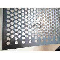 Buy cheap Round Hole Perforated Steel Sheet 1m X 2m For Chemical Filter Screen from wholesalers