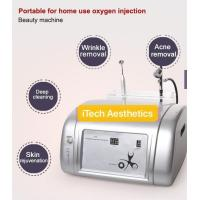 Buy cheap 2 In 1 Portable Oxygen Facial Machine Salon Use Jet Peel Beauty Machine 99% Pure Oxygen For Acne Removal product