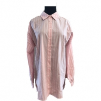 Buy cheap Plus Size Long Sleeve Button Lapel Ladies Casual Wear from wholesalers