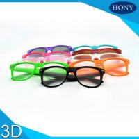 Buy cheap Fireworks Party 3D Diffraction Glasses Plastic Frame Wholesale LOGO printed Glasses from wholesalers