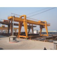 Buy cheap Double Beam Manual Travelling Gantry Crane / 120t - 32m - 22m / from wholesalers