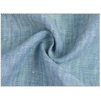 Buy cheap 100% LINEN YARN DYED FABRIC WITH  STRIPE  9SX9S /44X43  CWT#2008 from wholesalers