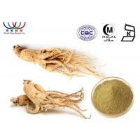 Buy cheap 100% Natural ginseng leaf extract , organic ginseng extract 80% Ginsenosides from wholesalers