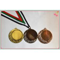 Buy cheap Gold silver bronze Sport Medals from wholesalers