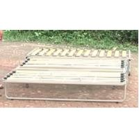 Buy cheap Adjustable metal sofa bed frame with wooden slat A011 from wholesalers