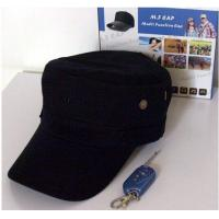 Buy cheap Cap Hidden Camera Video Picture Mp3 Function Spy Cam 640*480 Black Hat from wholesalers