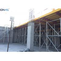Different Color Slab Formwork Systems Channel Steel / Timber Beam / Plywood Material
