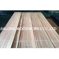 Buy cheap Sapelli Quarter Sliced Natural Wood Face Veneer for Interior Decoration from wholesalers
