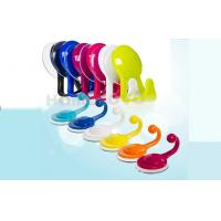 Buy cheap Eco friendly Color small wall coat hooks Yellow Bathroom wall hangers from wholesalers