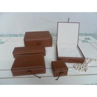 Buy cheap leatheroid jewelry boxes,ring box,earring box,pendant box,set jewelry box from wholesalers