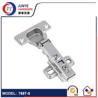Buy cheap 768 Two Holes Mounted Plate Clip on Full Overlay Hydraulic Soft Closing Cabinet Hinge from wholesalers