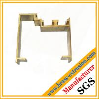 Buy cheap C38500 CuZn39Pb3  CuZn39Pb2 CW612N C37700 copper alloy extrusion profiles for window frames from wholesalers