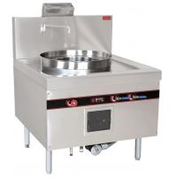 Stainless Steel Commercial Kitchen Equipments , 52KW Natural Gas Cooking Steamer
