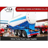 Buy cheap 3 Axles Cement Bulk Carrier Truck 4 mm Steel Tanker Body 35m³ Payload from wholesalers