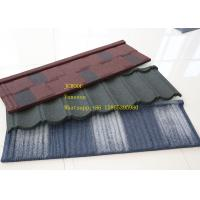 Buy cheap ISO9001 Zinc Corrugated Roofing Sheet Green Color  Bond Tile , zincalume roof sheeting from wholesalers