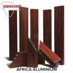 Buy cheap New design extruded aluminum window profile wood grain surface color aluminium profiles from wholesalers