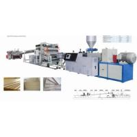 Buy cheap PE Wood Plastic Sheet Production Line from wholesalers