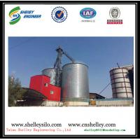 Buy cheap 5000t large flat bottom galvanized steel silo for grain storage from wholesalers