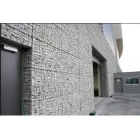 Buy cheap Silver Wire Gabion Baskets , Wire Cages For Rock Retaining Walls from wholesalers