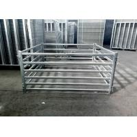 Buy cheap Sturdy Steel Cattle Fence , Horse Corral Panels For Horse / Cow / Sheep from wholesalers