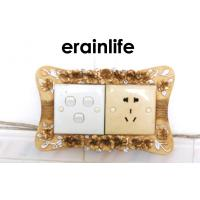 Buy cheap Flower Electrical Socket Home Decor Items Square Picture Frame from wholesalers