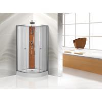 Custom Quadrant Sliding Door Shower Cubicles , Curved Shower Glass Enclosure
