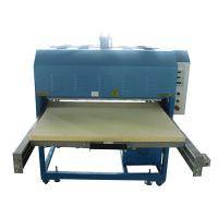 Buy cheap Hand Operated T Shirt Printing Press Machine With Hydraulic Double Station from wholesalers