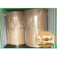 Buy cheap Food Grade Thickness 30gsm - 100gsm MG Kraft White For Fast Food Packing from wholesalers
