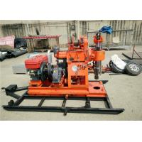 Buy cheap Small Water Well Drilling Rig / XY-1A Portable Rock Drilling Machines from wholesalers