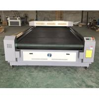 Buy cheap Auto feed laser cutting machine laser cutting bed for textile cloth leather from wholesalers