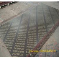 Buy cheap 18mm brown film faced plywood black film faced plywood for building construction from wholesalers