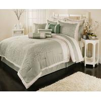 Buy cheap Adult Double Linen Bed Sheets , Microfiber Colorful Patchwork Quilt from wholesalers