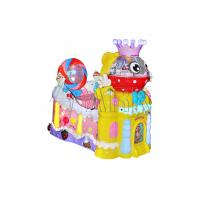 Buy cheap Amusement swing car kids children electric ride on car EPARK candy castle coin operated kiddie rides on game machine from wholesalers