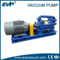 Buy cheap Two stage water liquid ring vacuum pump price on sale, dual stage water ring vacuum pump product