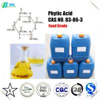 Buy cheap Food grade Phytic Acid  liquid /Phytic Acid powder CAS 83-86-3 Quality certificate Free Sample from wholesalers