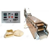 Buy cheap Automatic Snacks Making Machine Electric Heating  , Henan GELGOOG Arabic Pita Bread Machine from wholesalers