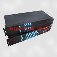 Buy cheap 100GHz/200GHz DWDM Module package in 1U Rackmount, Dense Wavelength-division multiplexing from wholesalers