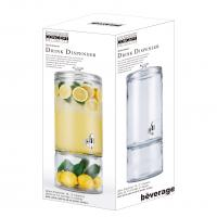 Buy cheap 2.1 gallon 8glass dispenser with glass jar for storage or display ,can be colored from wholesalers