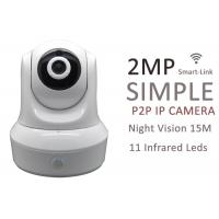 Buy cheap 11 Pieces 10M Night Vision IP Camera Infrared , IP Wifi Security Camera 2MP from wholesalers