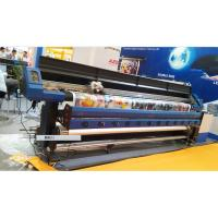 Buy cheap 3.2M Large Format Eco Solvent Printer With Two DX7 Micro Piezo Print Head for Flex Banner from wholesalers