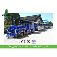 Buy cheap 62 Seater Mini Electric Trackless Train , Shopping Mall Electric Sightseeing Train from wholesalers
