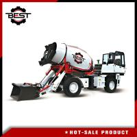 Buy cheap Auto Feeding Mobile Concrete Mixer Truck With Hydraulic Tank For 24 Hours Working from wholesalers