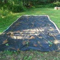 weed barrier under gravel driveway landscape and ground weed control fabric 101557420. Black Bedroom Furniture Sets. Home Design Ideas