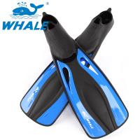 Buy cheap Blue Open Toe Hole Full Foot Diving Fins With Fast Remove Lock Design from wholesalers