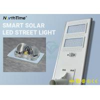 Buy cheap IP66 High Lumen Solar Powered LED Street Lights For Park , School , Campus from wholesalers